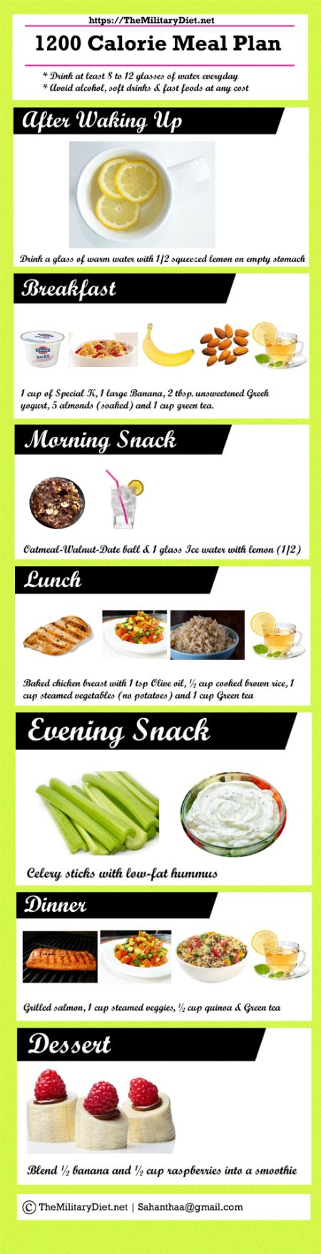 low calorie diet for 3 days