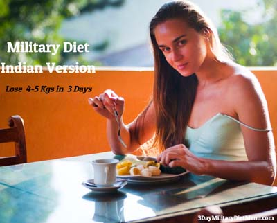 Military Diet Indian Version